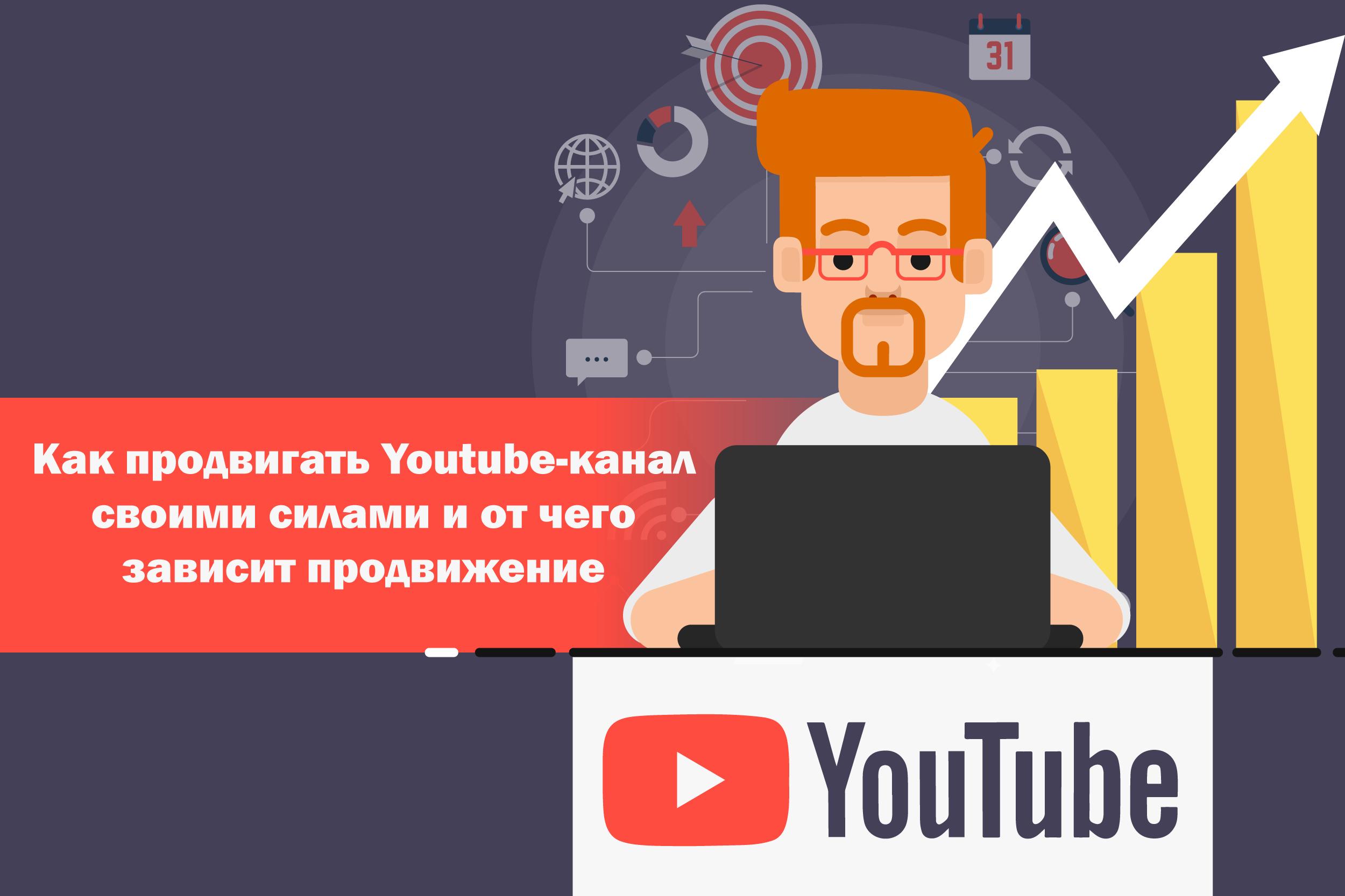Как продвигать Youtube-канал своими силами и от чего зависит продвижение