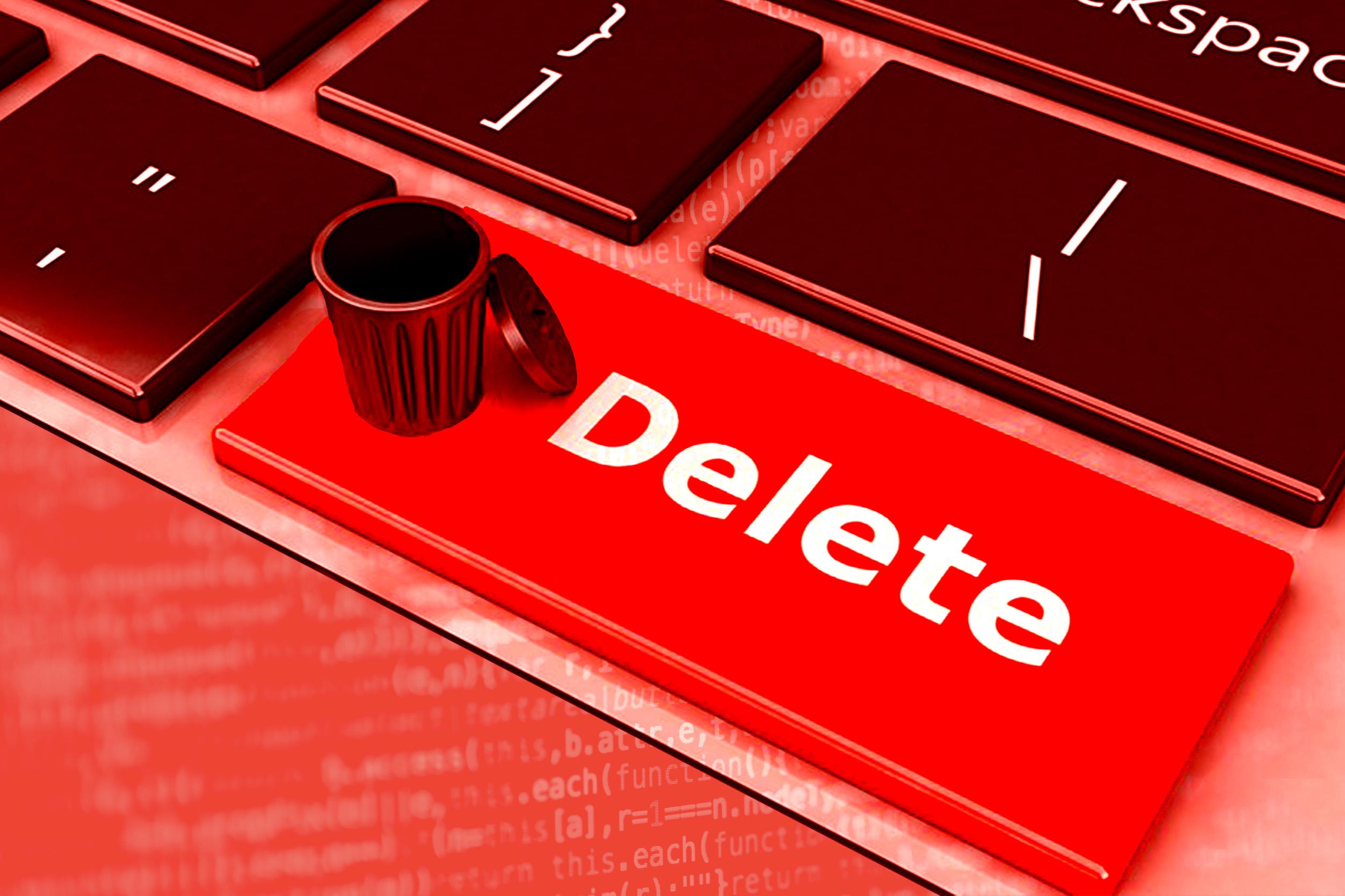 Как в интернете удалить о себе информацию